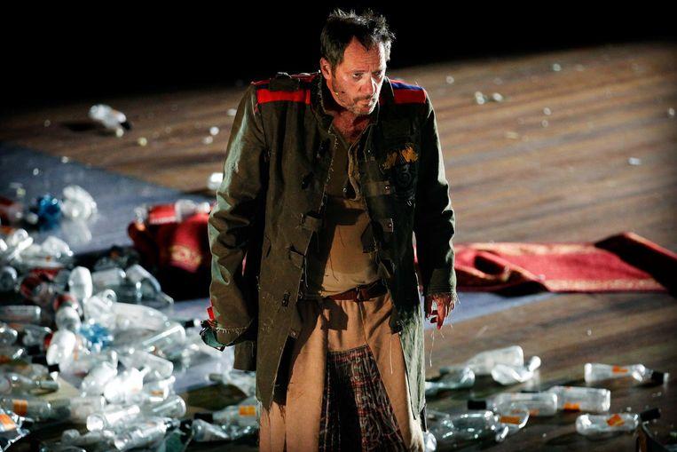 Gijs Scholten van Aschat in Richard III van Theatergroep Orkater/SSBA. Beeld anp