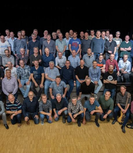 De Lumberjacks oefenen jaar lang voor vier shows