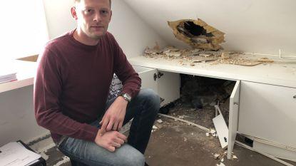 Inbrekers dringen restaurant binnen via dak