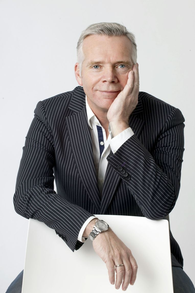 Cees van der Laan, hoofdredacteur van Trouw. Beeld Maartje Geels