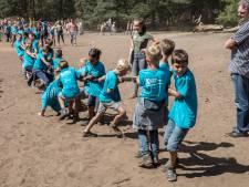 Invasie Brandevoortse kinderen in bos