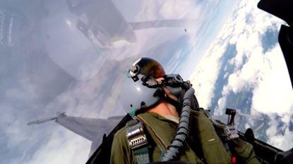 VIDEO: hoe moet je nu gaan plassen in een F-16?