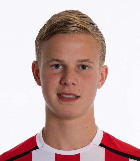 Willem II-spits Sem van den Broek terug naar Nuenen