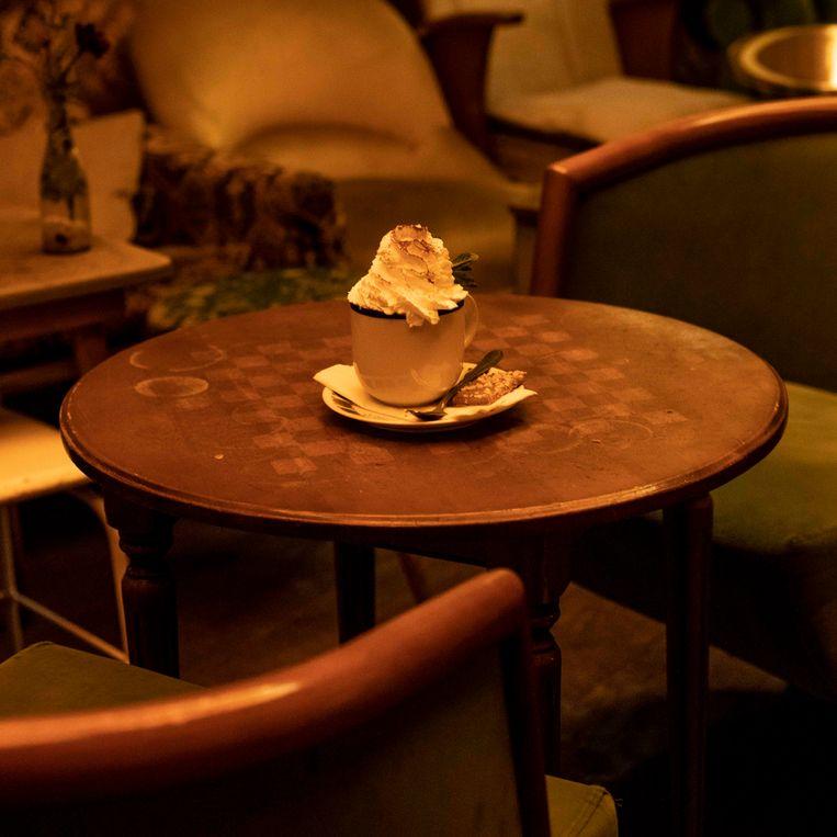 Café Brecht. Beeld Lin Woldendorp