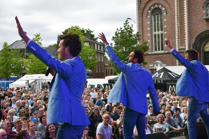 Archiefbeeld : De Romeo's lieten de Markt in Wetteren reeds vollopen tijdens de apotheose van de Topdagen.