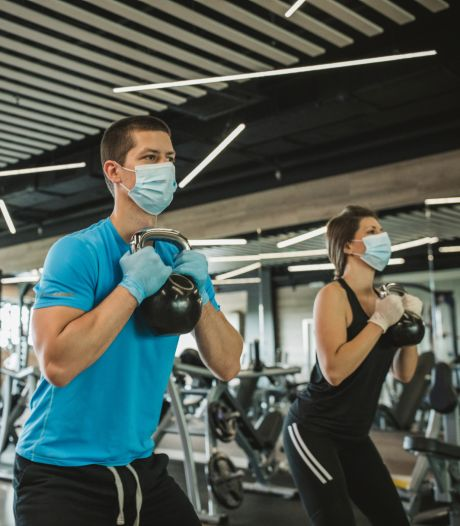 Suite à la fermeture des salles de sport, de plus en plus de Français viennent s'entraîner chez nous