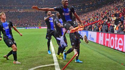 Club Brugge pakt uiteindelijk gouden punt in Istanbul na ongeziene slotfase, Diatta én Mata pakken rood na viering