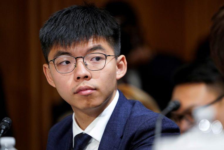 Joshua Wong stapt op als algemeen secretaris van de in 2016 opgerichte partij Demosisto.