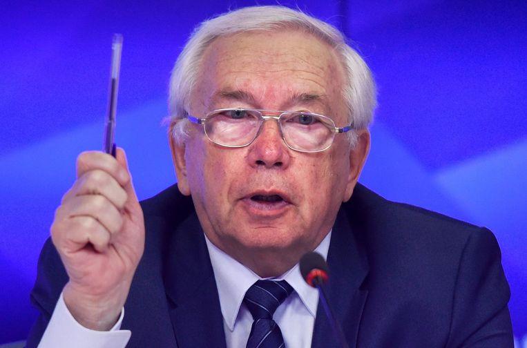 Hoofd van het Russisch Paralympisch Comité, Vladimir Lukin Beeld afp