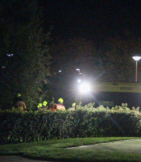 Vrouw raakt gewond na val van dam in Nijkerk