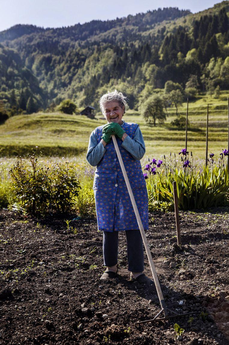 De 82-jarige Minka. Beeld Aurélie Geurts