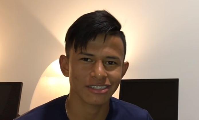 Jordan Rezabala was afgelopen week in Eindhoven en speelde mee in een oefenduel met PSV.