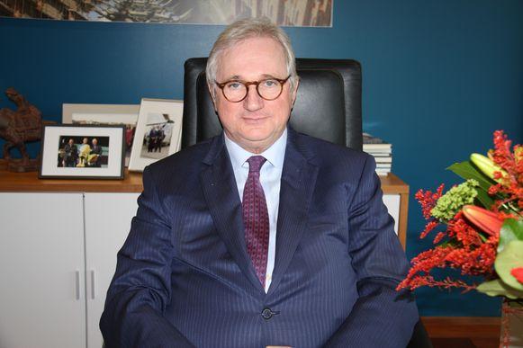 Koksijds burgemeester Marc Vanden Bussche.