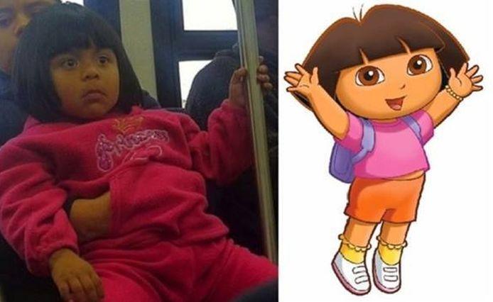 Dora uit 'Dora the Explorer'