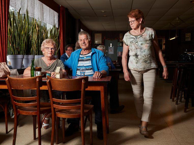 Aan tafel: Jos en Jeanne. Beeld Erik Smits