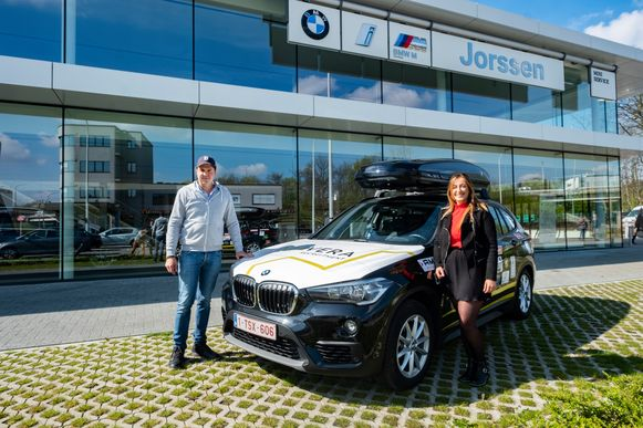 Dieter Van Daele en Lissa Laureyssen vertrekken naar Servië dit weekend.