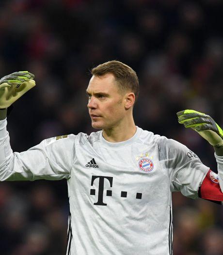 Neuer na lange onderhandelingen tot 2023 onder contract bij Bayern München