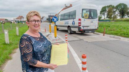 Al 400 handtekeningen tégen verkeersdrempels