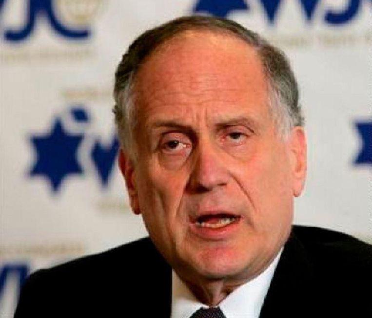 Voorzitter van het Joods Wereldcongres Ronald Lauder
