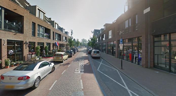 De Hilverstraat in Hilvarenbeek.