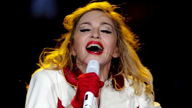 Madonna in concert.