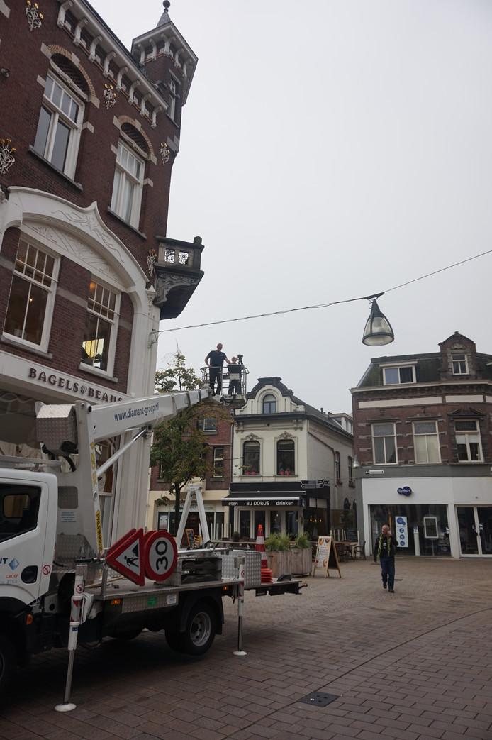 Jan van Oevelen in actie
