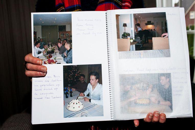 Sjan Smetsers' fotoalbum. Beeld Renate Beense