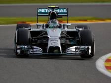 Rosberg inspiré à Spa-Francorchamps