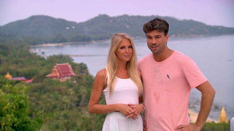 'Temptation Island' - presentatoren Annelien Coorevits en Rick Brandsteder