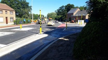 Kruispunt Tessenderloseweg met Winkelomseheide weer opengesteld voor autoverkeer