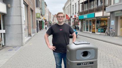 Stad investeert in extra en slimme vuilnisbakken om alles netjes te houden