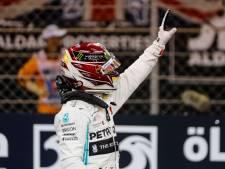 Hamilton eindelijk weer op pole, Verstappen start van P2