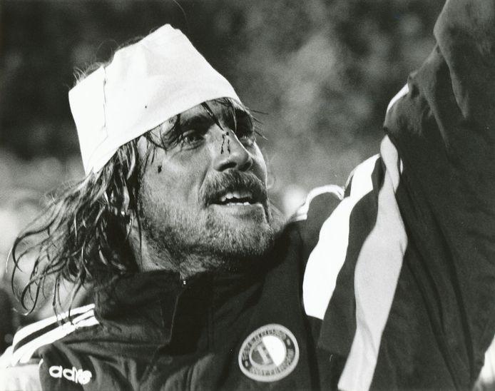 John de Wolf. Voetballer. Feyenoord (tegen PSV)..