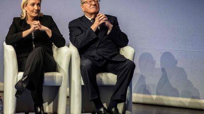 Na jarenlange familievete: verzoening tussen Marine Le Pen en vader Jean-Marie op til