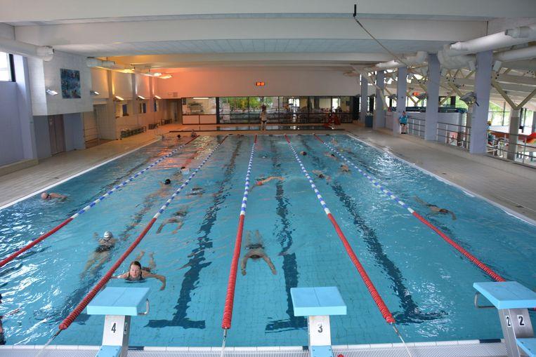 Het 25 meterbad in De Treffer.