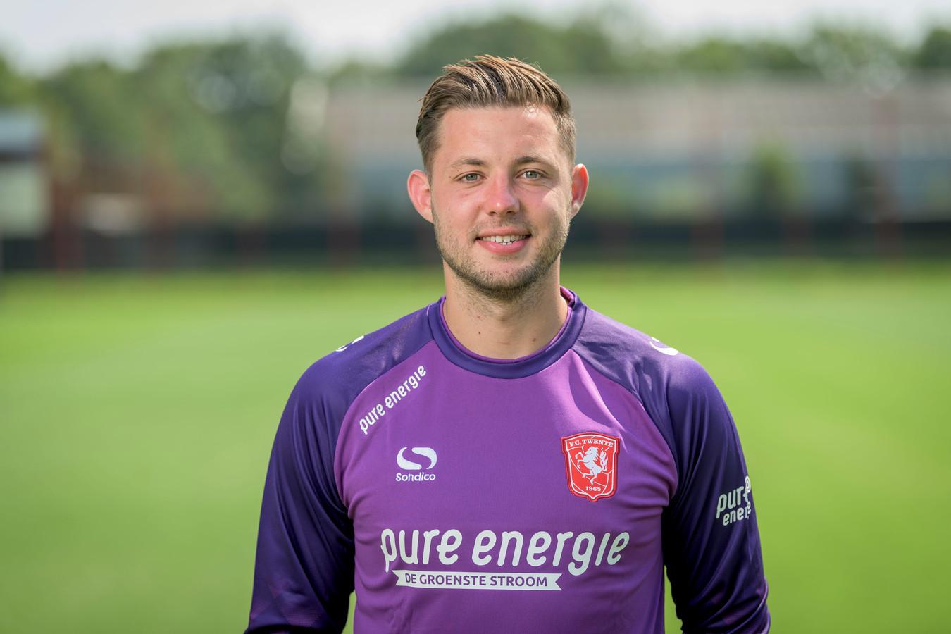 Nick Hengelman, hier nog uitkomend voor FC Twente, heeft een contract getekend bij Ajax.