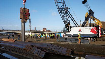 Werken aan Theunisbrug op gang getrapt: tegen 2021 drie nieuwe bruggen over Albertkanaal