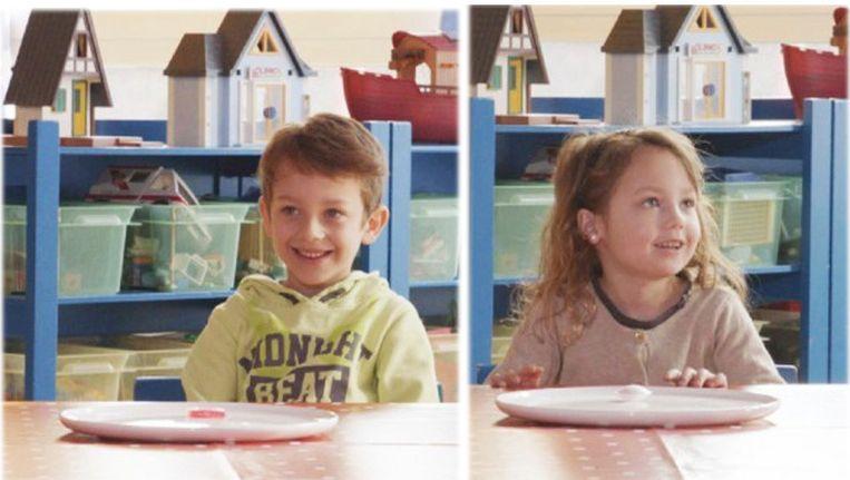 De kindjes van Staf: Beau en Nora.