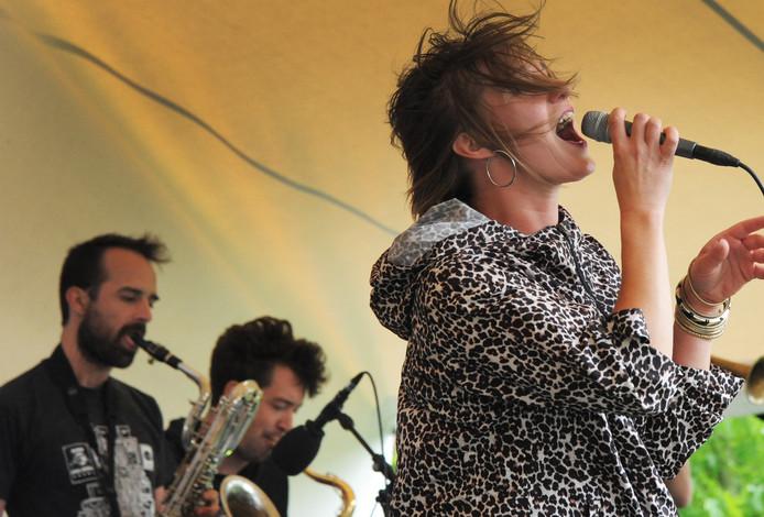 Optreden van Evil Empire Orchestra, vorig jaar op ZeelandJazz in de Kloveniersdoelen in Middelburg.