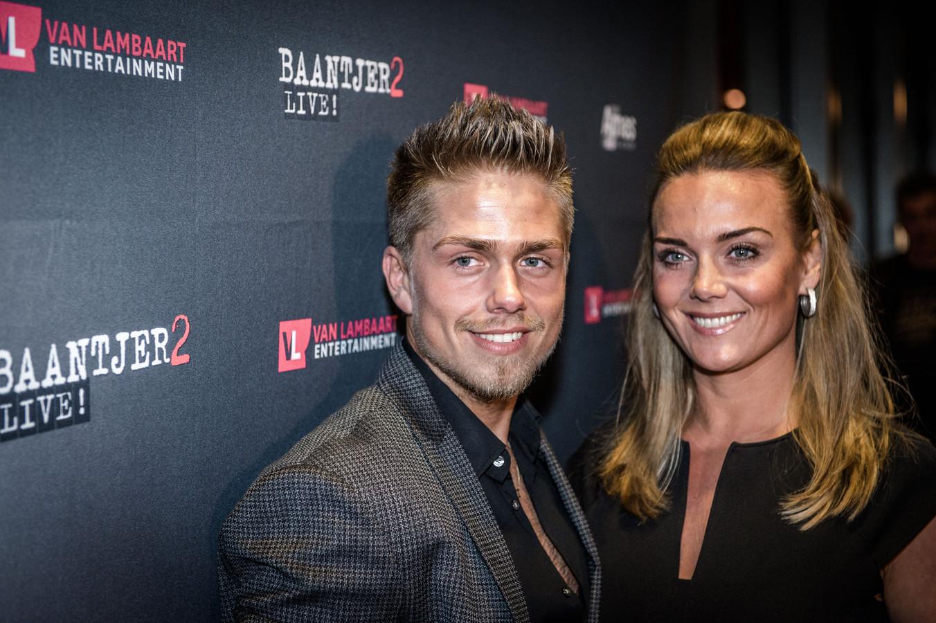 André Hazes en zijn vriendin Monique Westenberg.