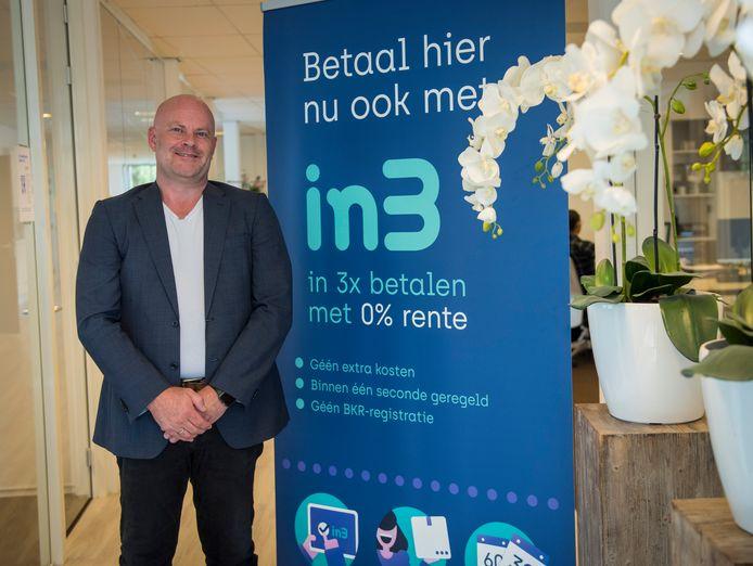 Directeur Hans Langenhuizen van In3.