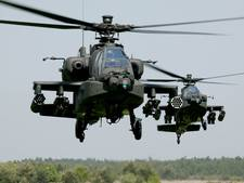 Nachtvluchten heli's Defensie  boven Veluwe opgeschoven