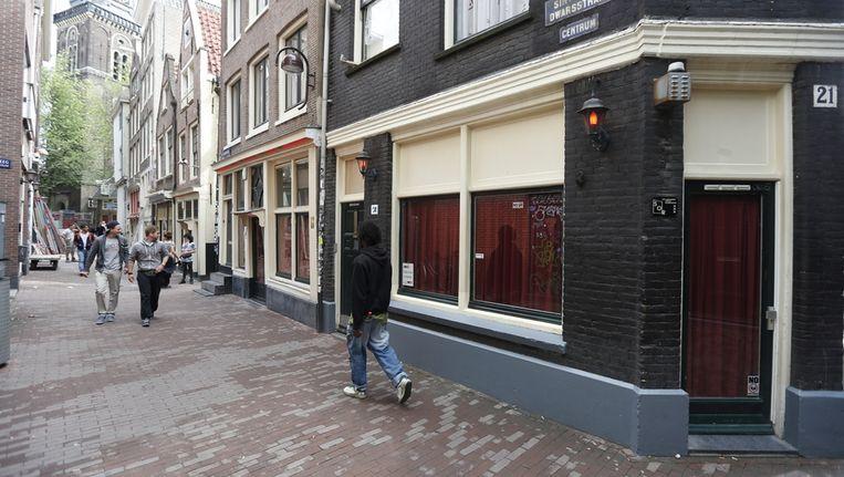 Raamprostitutie in de St. Annadwarsstraat. Beeld anp