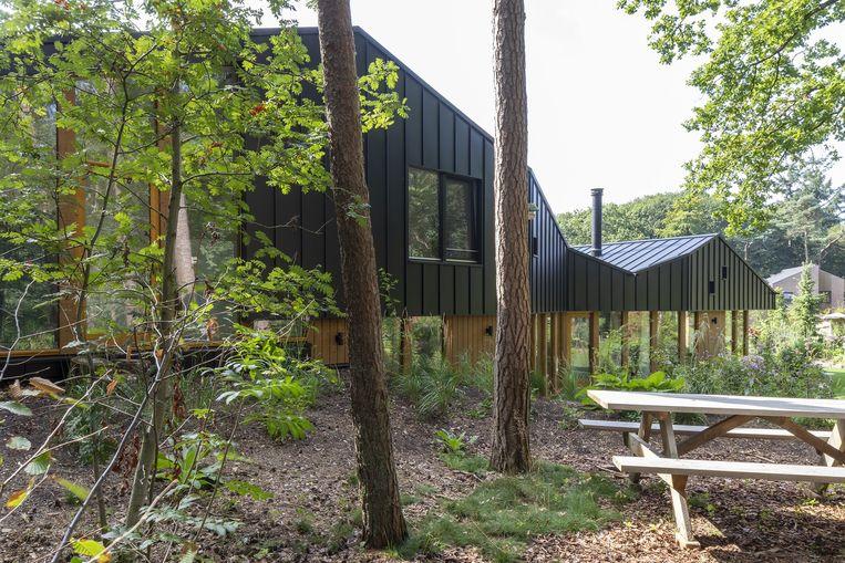Huis met staart in Soesterberg, door Onix XL. Beeld Peter de Kan