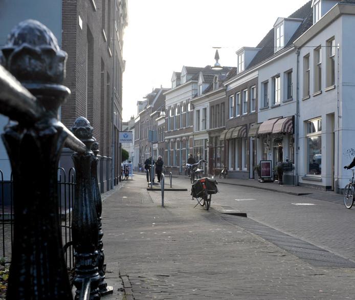 De Spittaalstraat in Zutphen.