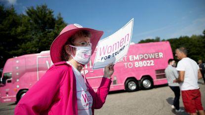 Amerikaanse president op zoek naar meer 'Women for Trump': slechts derde van vrouwen zou hem opnieuw verkiezen