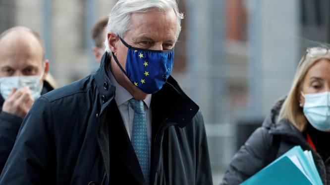 """EU-hoofdonderhandelaar: """"Nog steeds fundamentele verschillen met Britten over handelsakkoord"""""""