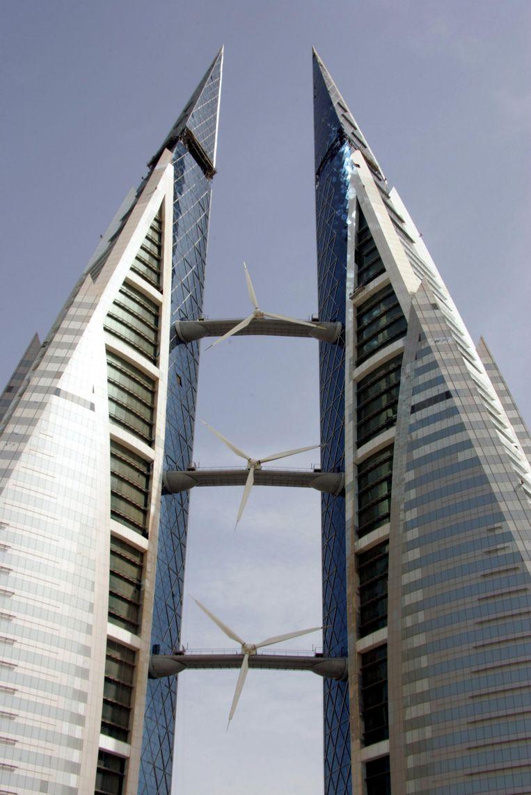 Het Bahrain World Trade Center. Beeld afp