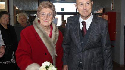 Jacqueline en Roger een diamanten paar