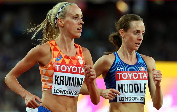 Susan Krumins twijfelt of ze mee kan doen aan de WK atletiek.